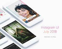 Instagram UI Kit (July 2018)