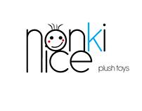 Logo Design Nonki Nice_plush toys