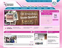 Arnavutköy Belediyesi Kadın Kültür Merkezi Web Sitesi