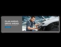 BMW Service Department Web Banner