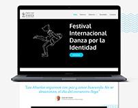 Web Danza x la Identidad