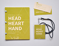 AIGA Head Heart Hand Conference Redesign