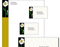 nature logo business cards