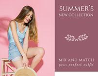 Summer sales #3 | Demo Banner