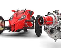 Y2K Turbine Trike