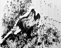 Chinese Ink Painting 04 - Wolf