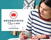 Webdesign La Valise Rouge's website