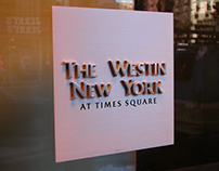 Westin at Time Square Signage
