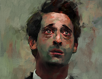 Portrait / Detachment in Adrien Brody