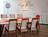 Branding G. Ríos Furniture Designer