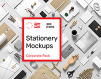 Stationery PSD Mockups -Corporate Pack