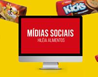 Hiléia Alimentos - Direção de Arte para Mídias Sociais