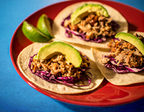 Asian Tacos-Styled Food Photography