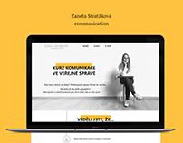 Žaneta Stratílková Communication web