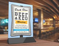 The Duck Dive Beef & Keg Flyer
