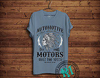 Automotive Motors Tees