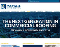 Website Design for a Roofing Company