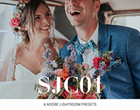 SJC01 Presets: 6 Adobe Lightroom Presets (Soft/Moody)