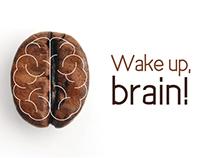 Wake up brain!