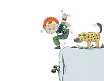 Book illustration: Stiglincz M. - Varga N. : Kalimpa