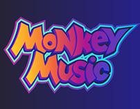Monkey Music brand identity