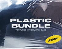 Plastic Bundle Branding Wrap Texture