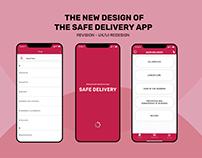 Safe Delivery App