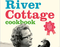 The River Cottage Cookbook book cover design