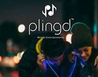 Branding - PlingD (Music Company)