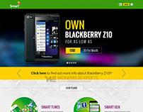 Smart Axiata - Website Design