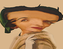 Scanography 8 / Female Portraits