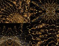 Gold Waves - VJ Loop Pack (3in1)