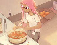 Cooking in the Apartment - Splatoon 3