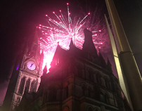 Happy new year from Manchester