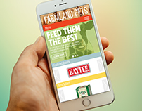 Farmland Website (Mobile)