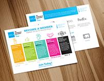 AIGA Membership Benefits 5x7 Postcard
