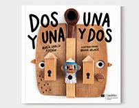 Dos y una, una y dos Illustrated children's book