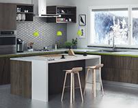 Kitchen Winter Style