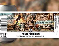 Beerlabel - Design & animated ad