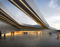pictury for ZAHA HADID Architects / Chartres Pavilion