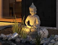 Budda. Exterior