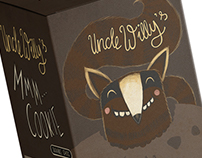 Uncle Willy's - Packagingdesign for Cookies
