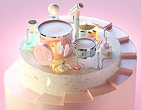15 Step Drum Machine