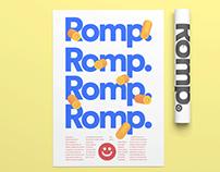 Romp: Event Branding