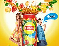 Lipton İce Tea Doruk&Buse campaign