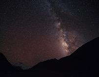 Galaxy in Qomolangma