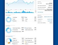 Analytics Product (Visual Design)