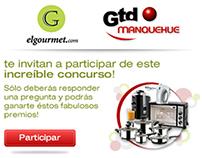 [ GTD MANQUEHUE ] Concurso elgourmet.com