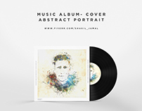 Abstract Portrait for Music Album Cover