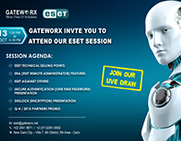 ESET Session Invitation